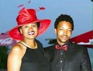 Hope Zinde and her son Mark in a picture she posted on Facebook on his birthday last year. Image by: Supplied