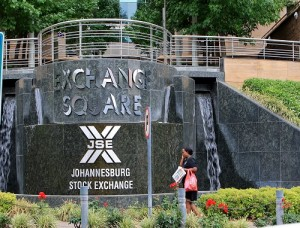 Johannesburg Stock Exchange File Picture: Katherine Muick-Mere
