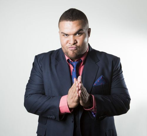 Jason Goliath features in The Herald Comedy Series
