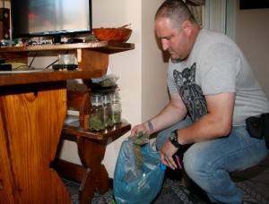Ready packaged and priced drugs were found when police raided a Lorraine townshouse Picture: Fredlin Adriaan