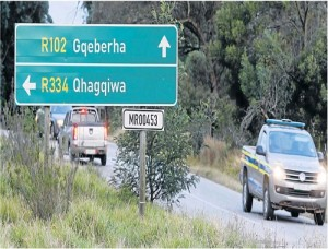 A presumptuous photoshopper has jumped the gun with these nameboards Picture: Fredlin Adriaan