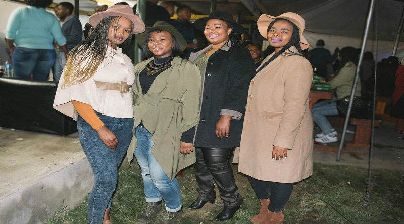 The Hats and Coats Winter Sunday Soul Session had PE residents snug and stylish at Kwano's Meat corner last weekend. Picture: Bruchin Noeka
