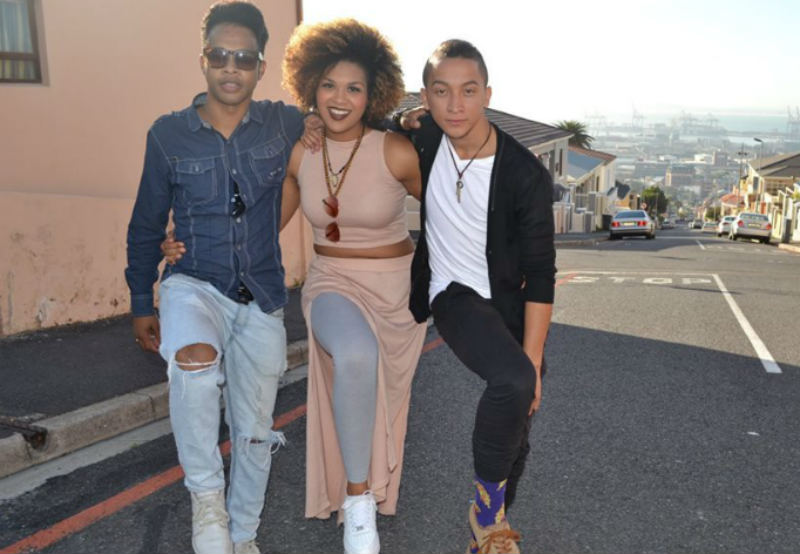 Cape Town singers Carlo Daniels,left, Andrea Anthony and Austin Rose bring 'From Cape Town to Motown' to Port Elizabeth this weekend