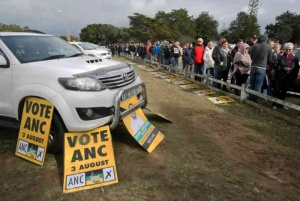 Voters in Sunridge Park  Picture: Fredlin Adriaan