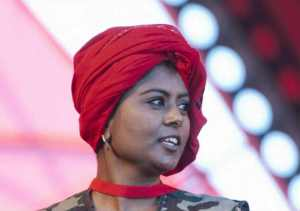 Economic Freedom Fighters (EFF) treasurer-general Magdalene Moonsamy. Picture: Sowetan Live.