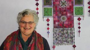 Marilyn Pretorius's prize-einning quilt will also be seen at the spring show Picture: Angie Franke