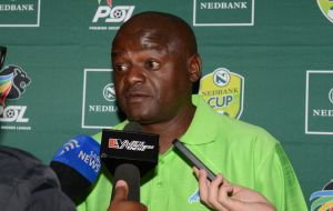 Dan Malesela during the Nedbank Cup semi final press conference with United FC and Kaizer Chiefs from PSL Headquarters on May 02, 2013 in Johannesburg, South Africa.  Picture: Lefty Shivambu/Gallo Images