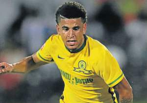 DECISION PENDING: Sundowns have asked that Keagan Dolly  not be selected for a friendly. Picture: GALLO IMAGES