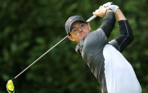 Northern Ireland's Rory McIlroy in action. Picture:REUTERS