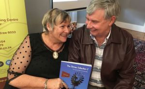 Sue and Max Hoppe with their new book Picture: Salvelio Meyer