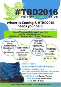 2016 Twitter Blanket Drive Ends With Passion